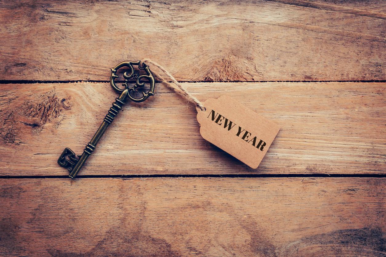 new year key